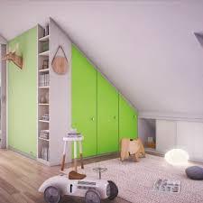 chambre bébé mansardée le placard sous pente trouvez une inspiration