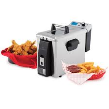 Wolfgang Puck Toaster Wolfgang Puck 4l Programmable Deep Fryer With Oil Drain Tap