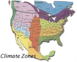 Garden Zone Map California - lawn grass planting climate zone maps for choosing type of grass