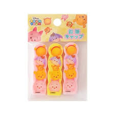 winnie pooh piglet disney tsum tsum cute pencil caps pens