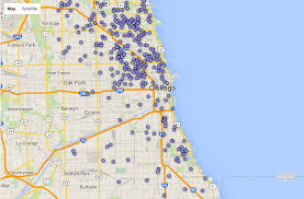 Blue Line Chicago Map by Solar Power Has Record Year With Chicago Property Owners Curbed