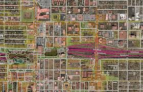 Downtown Phoenix Map by Editing And Extracting Open Street Map Data For Gis Asu Events