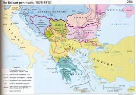 Europe Before 1914 Map by Balkans Maps