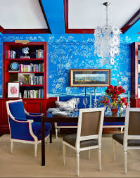 Blue Dining Room Ideas Chic Ways To Decorate In Red White And Blue Dining Room Idolza