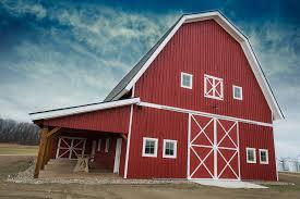 Gambrel Barns by Legacy Post U0026 Beam