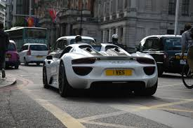 Porsche 918 Modified - supercars in london june 2015 incl 918 spyder mansory