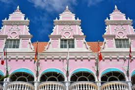 dutch colonial architecture in oranjestad aruba encircle photos