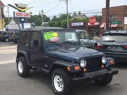 used jeep wrangler for sale in ma 2002 jeep wrangler for sale carsforsale com