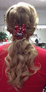 44 best christmas hair images on pinterest hairstyles braids