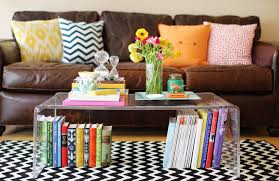 Style A Coffee Table How To Style A Coffee Table The Everygirl