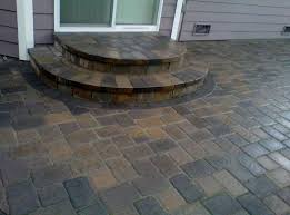 Snap Together Patio Pavers by Camino Stone In Jamestown Blend Interlocking Paver Patios