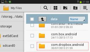 my files android how to access local dropbox files in android phone and tablet