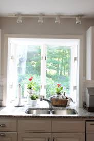 kitchen lighting over sink light drum pewter country crystal