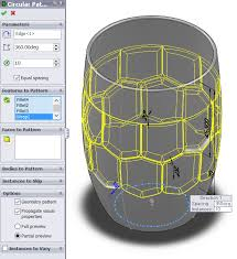 solidworks linear pattern beer mug tutorial solidworks insight