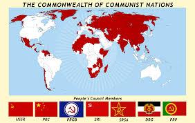 Ussr Map Soviet World Map Timekeeperwatches