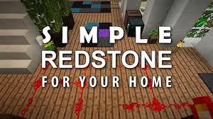 minecraft redstone house ideas