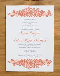 henna invitation katharine watson henna inspired floral wedding invitations