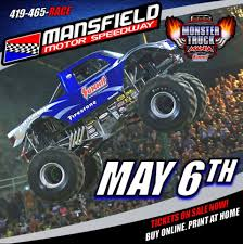 monster truck shows in indiana mansfield ohio mansfield motor speedway monster truck monster
