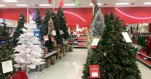 target 30 artificial trees 9ft slim alberta spruce tree