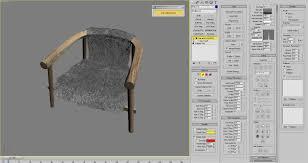 hair u0026 fur in 3d studio max 3d architectural visualization