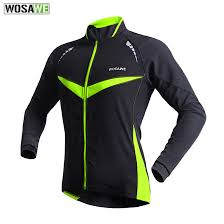 warm cycling jacket wosawe cycling jacket men windproof warm cycling clothing sport ropa