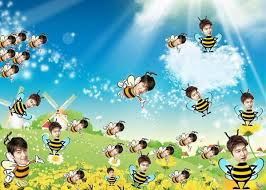 Lee Min Ho Memes - lee min ho is busy as a bee and dressed like one