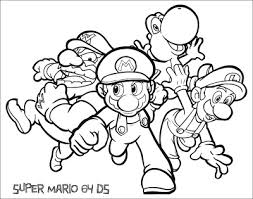 jimbo u0027s coloring pages super mario coloring pages