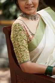 https www stylish 18 cotton saree blouse designs for a stylish look blouse