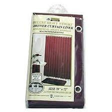 Burgundy Shower Curtain Liner New Vinyl Shower Curtain Liner With Magnets Burgundy