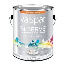 best interior paint with primer shop valspar reserve semi gloss