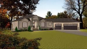 walkout basement floor plans ranch 3 car garage house plans by edesignsplans ca 5