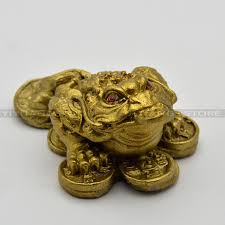 Aliexpresscom  Buy Fengshui Chinese Money Frog Copper Toad Coins - Home decor articles