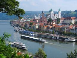 Regensburg Germany Map by Danube Regensburg To Passau Cycling Break Easy Riverside Cycling