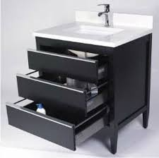 Empire Industries Vanity Empire Industries Cp24b 24 Inch Contemporary Vanity With 3 Soft