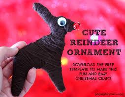 cute and easy reindeer christmas craft