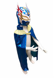 Sin Costume Halloween Sin Youth Lucha Libre Wrestling Mask U0026 Cape Halloween