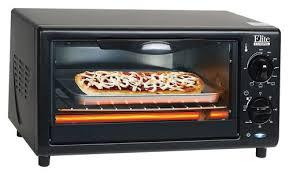 Under Cabinet 4 Slice Toaster by Elite Cuisine 4 Slice Toaster Oven Black Eka 9210xb Best Buy
