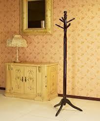 Polished Oak Desk Amazon Com Frenchi Furniture Wood Coat Hat Rack Stand In Oak