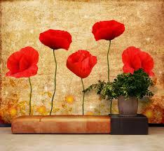 large poppy garden flowerkid in the mural facebook