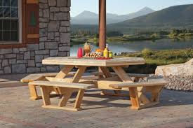 Indoor Picnic Table Amish Outdoor U0026 Indoor Furniture For Sale In Oneonta Ny Amish