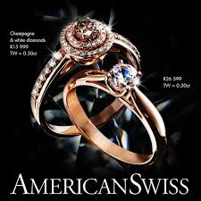 wedding rings at american swiss catalogue american swiss on gold is spot on trend who is