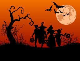computer background halloween sizzling halloween widescreen high resolution wallpaper