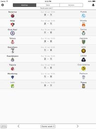 liga mx table 2017 mexico football league liga mx livescore results ipad reviews at
