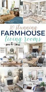 farmhouse design farmhouse decor in 10 stunningly gorgeous living rooms