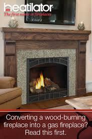 convert wood fireplace to gas binhminh decoration
