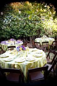 backyard bbq wedding reception outdoor furniture design and ideas