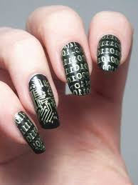 Exemple Deco Ongles by Belle Femme Adorable Nail Art Noel Facile Manicure Noel Simple