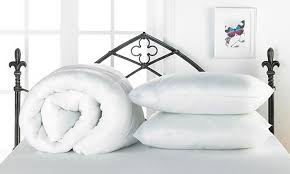 4 5 t summer duvet and pillows groupon goods