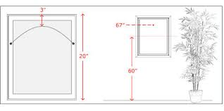 How To Hang A Picture Mounting Guidelines Think U0026 Wonder Inc