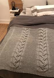 espace tricot patterns espace tricot blog we have a new free pattern for you today just in time for the cooler weather au chalet is a simple and cozy blanket featuring large and small cables